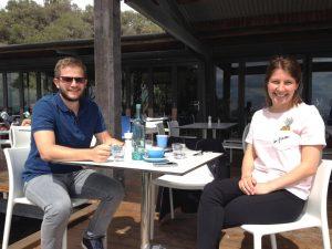 mark+mcervale+&+wife+at+BB+Cafe++summer+shot