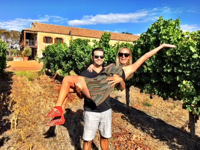 Private romantic Swan Valley wine tours for couples.