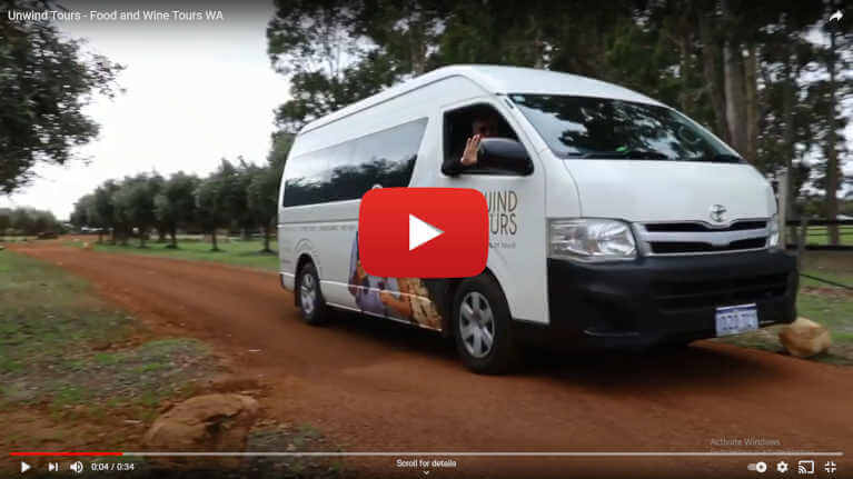 Wine tours video of the Swan Valley.