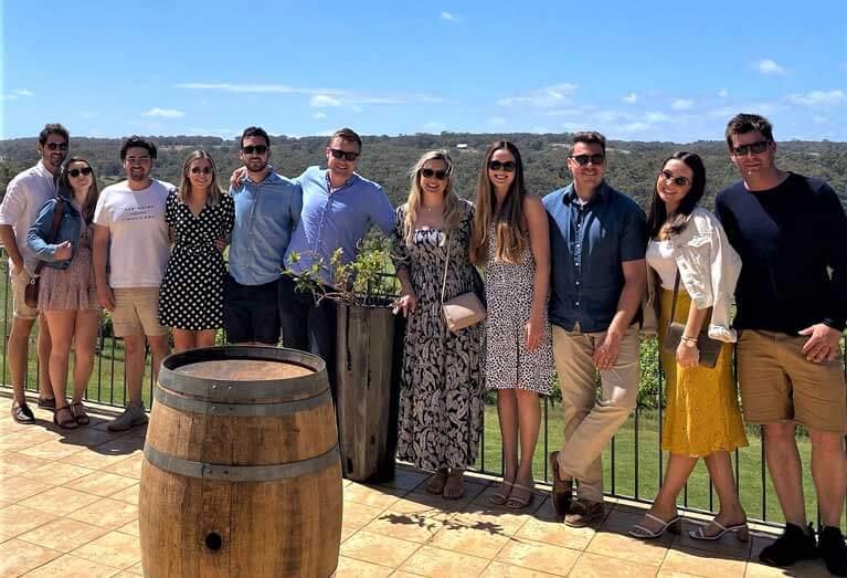 group wine tour dunsborough